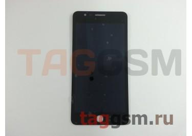 Дисплей для Alcatel OT-6044D Pop Up + тачскрин (черный)