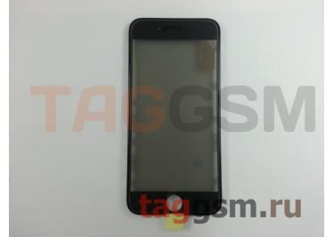 Стекло + OCA + поляризатор + рамка для iPhone 6S (черный), ориг