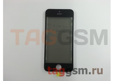Стекло + OCA + поляризатор + рамка для iPhone 5S (черный), ориг