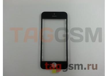 Стекло + OCA + рамка для iPhone 5S (черный), ориг