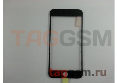 Стекло + OCA + рамка для iPhone 6 Plus (черный), ориг