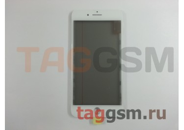 Стекло + OCA + поляризатор + рамка для iPhone 7 Plus (белый), ориг