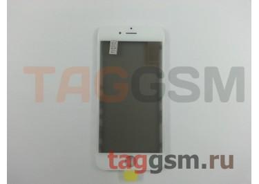 Стекло + OCA + поляризатор + рамка для iPhone 6S (белый), ориг