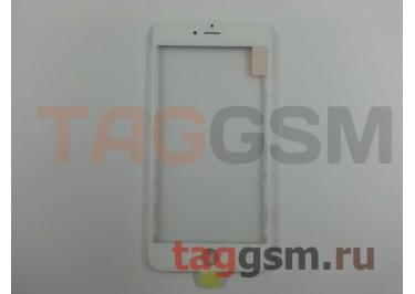 Стекло + OCA + рамка для iPhone 6 Plus (белый), ориг