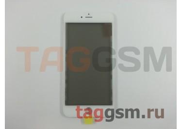 Стекло + OCA + поляризатор + рамка для iPhone 6S Plus (белый), ориг