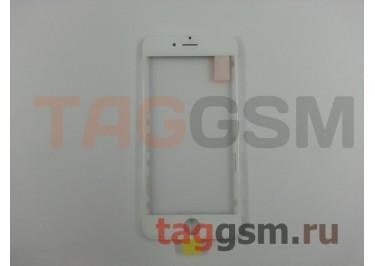 Стекло + OCA + рамка для iPhone 6 (белый), ориг