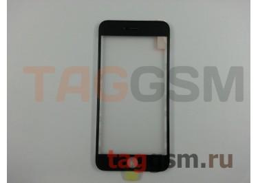 Стекло + OCA + рамка для iPhone 6S Plus (черный), ориг