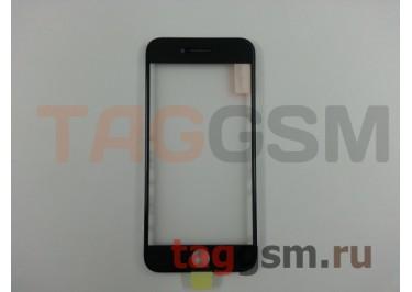 Стекло + OCA + рамка для iPhone 7 (черный), ориг
