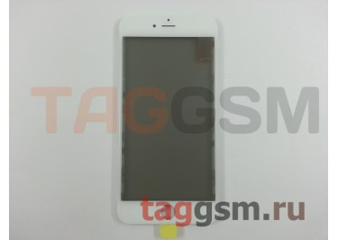 Стекло + OCA + поляризатор + рамка для iPhone 6 Plus (белый), ориг
