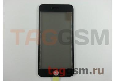 Стекло + OCA + поляризатор + рамка для iPhone 6S Plus (черный), ориг