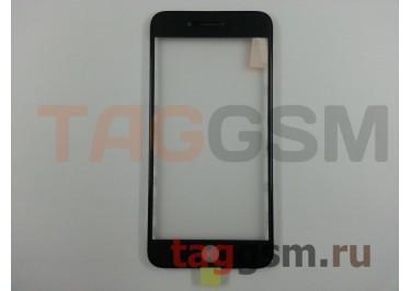 Стекло + OCA + рамка для iPhone 7 Plus (черный), ориг