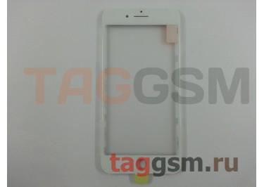 Стекло + OCA + рамка для iPhone 7 Plus (белый), ориг