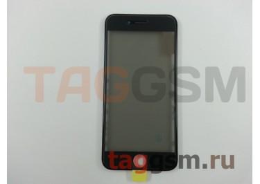 Стекло + OCA + поляризатор + рамка для iPhone 6 (черный), ориг