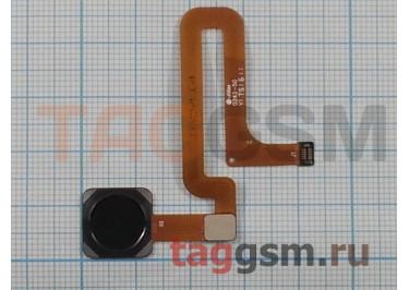 Шлейф для Xiaomi Mi4s + сканер отпечатка пальца (черный)
