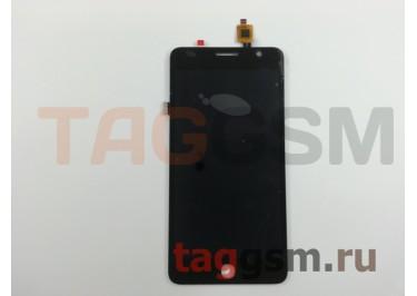 Дисплей для Alcatel OT-5070D Pop Star 4G + тачскрин (черный)