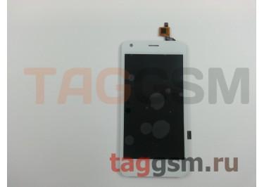 Дисплей для Fly FS454 Nimbus 8 + тачскрин (белый)