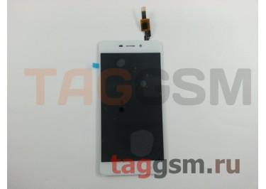 Дисплей для Xiaomi Redmi 4 + тачскрин (белый)