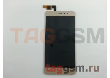 Дисплей для Xiaomi Redmi Note 3 Pro SE (152mm) + тачскрин (золото)