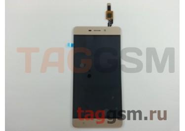 Дисплей для Xiaomi Redmi 4 + тачскрин (золото)