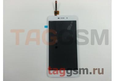 Дисплей для Xiaomi Redmi 4A + тачскрин (белый)