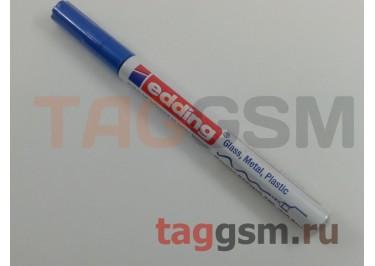 Маркер EDDING 780, d=0,8мм (для рисования печатных плат) (синий)