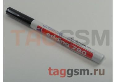 Маркер EDDING 780, d=0,8мм (для рисования печатных плат) (черный)