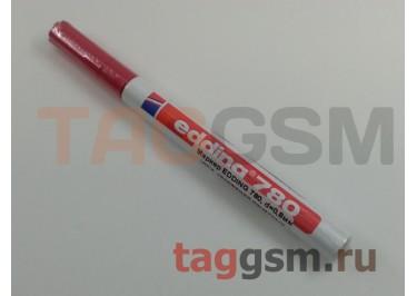 Маркер EDDING 780, d=0,8мм (для рисования печатных плат) (красный)