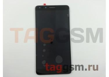 Дисплей для Alcatel OT-7070X Pop 4 + тачскрин (черный)