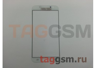Стекло для Samsung J730 Galaxy J7 (2017) (белый), ААА
