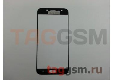 Стекло для Samsung J730 Galaxy J7 (2017) (черный), ААА