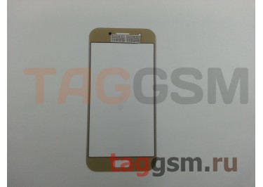 Стекло для Samsung Galaxy A3 / A320 (2017) (золото), AAA