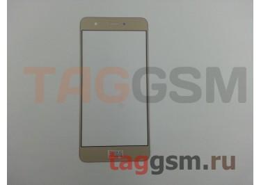 Стекло для Huawei Nova (золото)