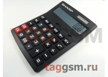 Калькулятор Sharp CH-D12 (черный)