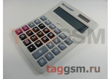 Калькулятор Sharp CH-D12 (белый)
