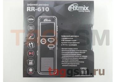 Диктофон 4GB Ritmix RR-610