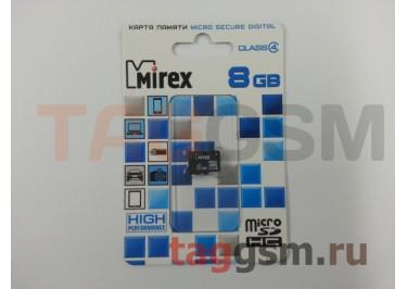 Micro SD 8Gb Mirex Class 4 без адаптера