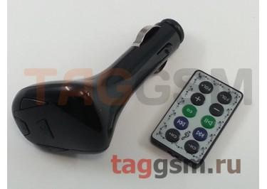 FM-модулятор MicroSD+USB+пульт