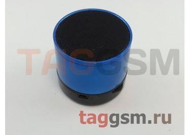 Колонка (Bluetooth, USB, microSD, синий) (S10)