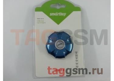 USB HUB Smartbuy UFO 4 порта Blue (SBHA-143-B)