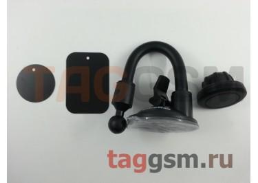 Автомобильный держатель (на присоске, на шарнире, на магните) (черный) OltraMax 207