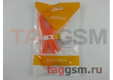 USB для iPhone 7 / iPhone 6 / iPhone 5 (8pin) магнитный (1,2м) оранжевый, Smartbuy