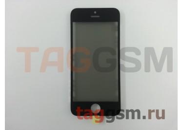 Стекло + OCA + поляризатор + рамка для iPhone 5 (черный), ориг
