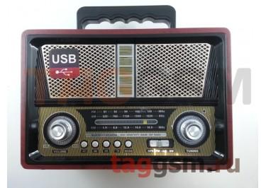 Колонка (MD-1802BT) (Bluetooth+USB+SD+MicroSD+FM) (черная)