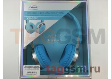 Беспроводные наушники (полноразмерные Bluetooth) (синий) Koniycoj KB-3800