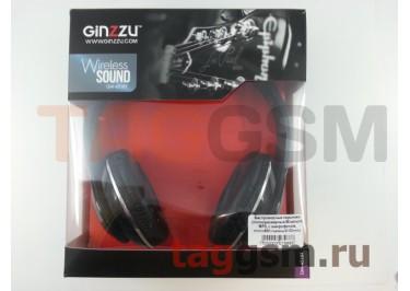 Беспроводные наушники (полноразмерные Bluetooth MP3, с микрофоном, microSD) (черный) Ginzzu GM-451BT