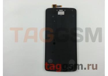 Дисплей для Motorola Moto C + тачскрин (черный)