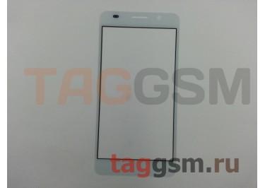 Стекло для Huawei Honor 6 (белый)