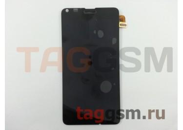 Дисплей для Microsoft 640 Lumia + тачскрин (черный)