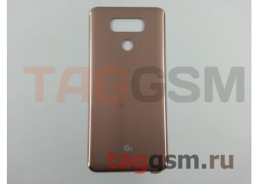 Задняя крышка для LG H870DS G6 (золото), ориг