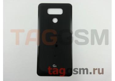 Задняя крышка для LG H870DS G6 (черный), ориг